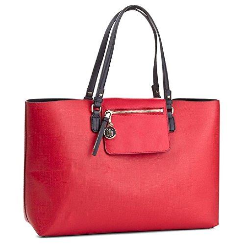 Bag Shoulder Blue blue Tommy Hilfiger Women's red wvtx1q