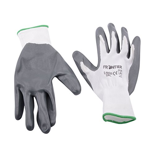 Midas Safety Frontier MBTP061 Unisex Gloves, White/Grey, Large (B0100A8Q5A) Amazon Price History, Amazon Price Tracker