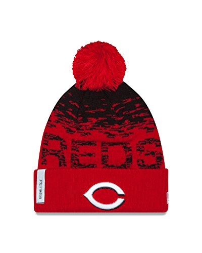Field Cincinnati Reds Mlb Baseball (MLB Cincinnati Reds Headwear, Scarlet/Black, One Size)