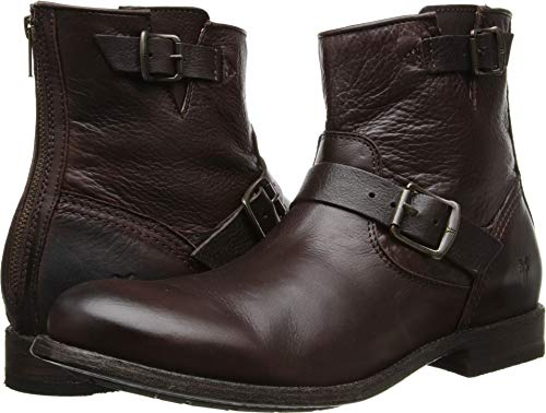 FRYE Men's Tyler Engineer Dark Brown/Soft Vintage Leather Boot 12 D (M) ()