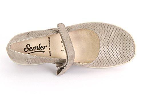 Semler Flora Panna Samt Metall - F5085070028 Beige