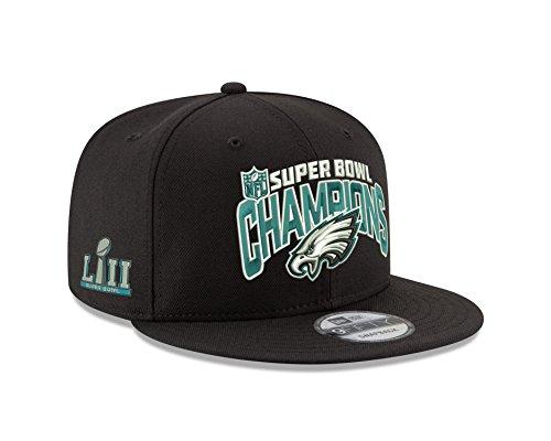 New Era 9Fifty Philadelphia Eagles Super Bowl LII Champions Adjustable Hat OSFA