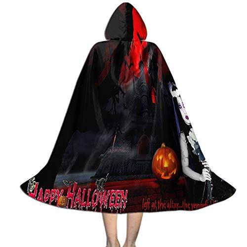 Ciara Halloween Costume (Khdkp Kids Wizard Cape, Masquerade Cosplay Costume Cape Halloween Decoration -)