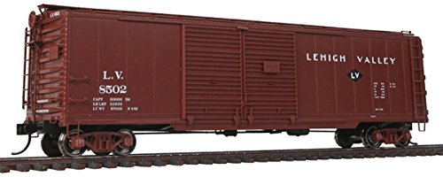 Walthers Proto HO Scale 50' AAR DD Boxcar - Lehigh Valley/LV Small Logo #8502