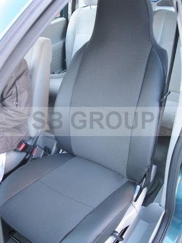 VOLVO XC60 08 en parte delantera mirada de cuero par de Cubierta de asiento de coche