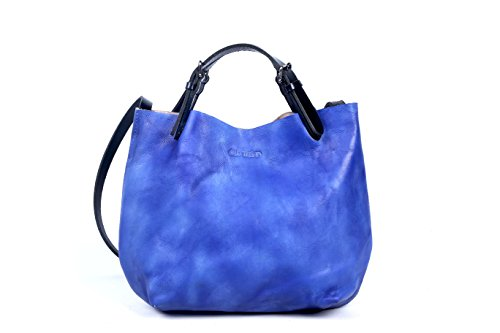old-trend-hand-painted-eco-genuine-leather-dip-dye-mini-tote-sky-blue