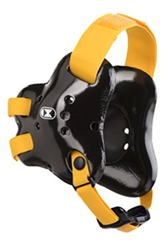 Cliff Keen Fusion Headgear in Black and Gold