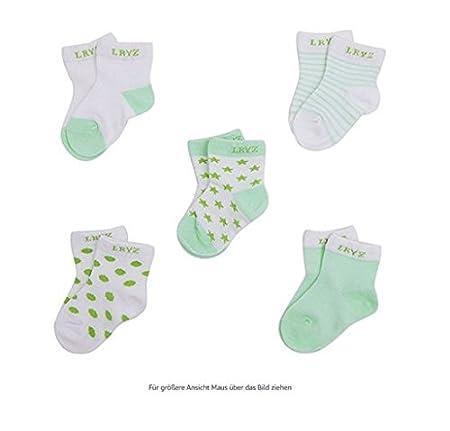 XPartner Calcetines de Color Caramelo para niños Calcetines Suaves de algodón para bebés Calcetines Calientes