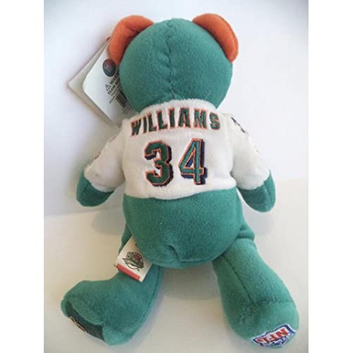Ricky Williams Miami Dolphins Plush Bear Nfl Team Bears