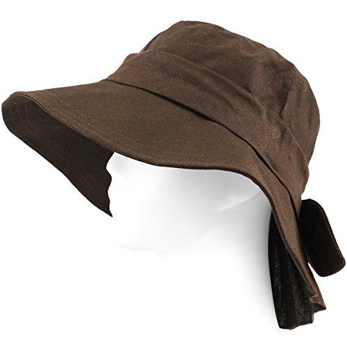 Packable Summer Beach Sun Hat - Soft Wide Brim - Linen Blend - - Beach Panama City Stores Clothing