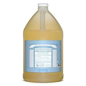 Dr Bronner Baby Mild Pure-Castile Liquid Soap 3.8 ...