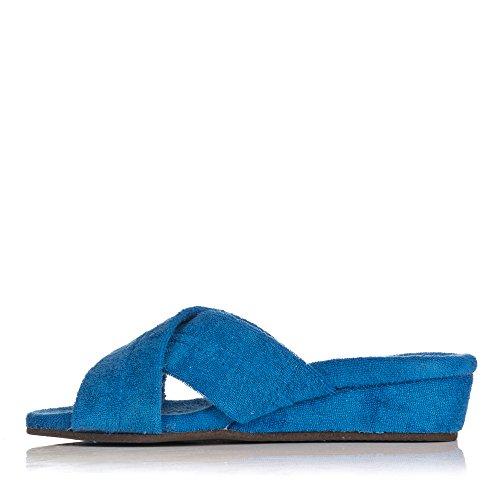 541 Femme Azulon Chaussons Bleu pour Vanity vdqnRv
