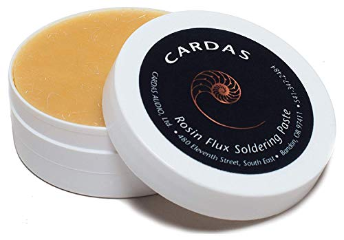 CARDAS AUDIO Activated Rosin Solder Paste Flux for Quality Soldering 2 oz (55g) Jar