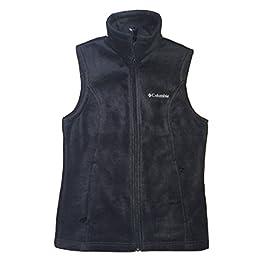 Columbia Women Sawyer Rapids 2.0 Fleece Vest Jacket (L, Black)