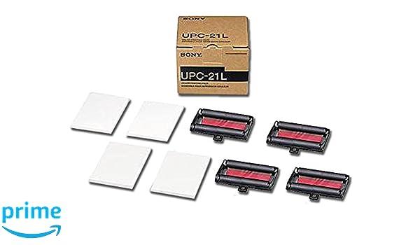 Gima 72735 papel Sony upc-21 a colores, piezas de 4: Amazon.es ...