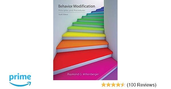 Amazoncom Behavior Modification Principles And Procedures
