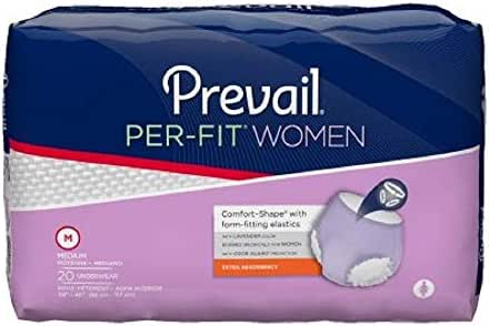 Prevail - Per-Fit - Women - Adult Absorbent Underwear - Pull On Medium Disposable Moderate Absorbency - 80/Case - McK