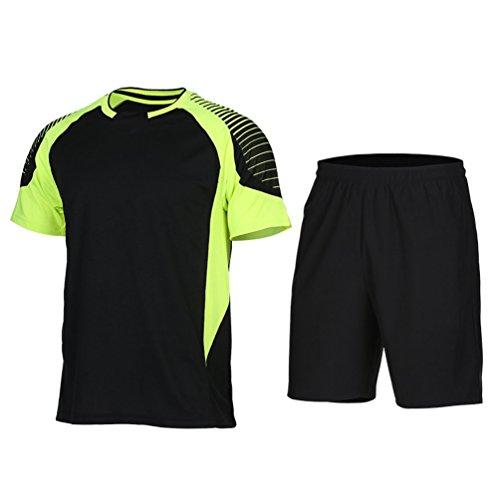 Men Soccer Jerseys Football Shirt Kit Survetement Basketball Sets Maillot De Foot Soccer Sport Running Tracksuit