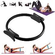 VANUODA Pilates Ring, Fitness Resistance Training Yoga Ring, Double Handle, Women Weight Loss Body Toning Magi