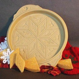 Brown Bag Norwegian Woods Shortbread Pan / Reindeer Design