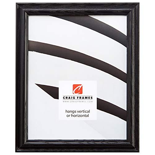 Craig Frames 130ASHBK 24 x 36-Inch Poster Frame, Solid Wood, 1-Inch Wide, Black