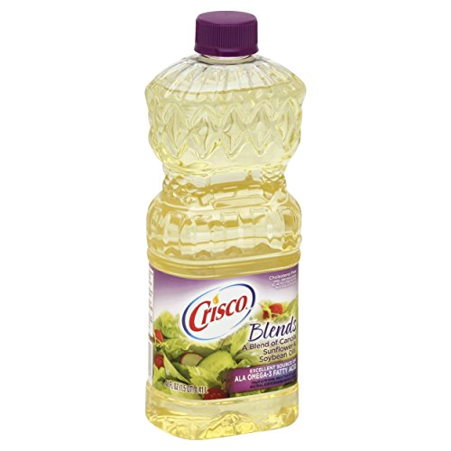 Crisco Natural Blend Oil, 48 Fluid Ounces