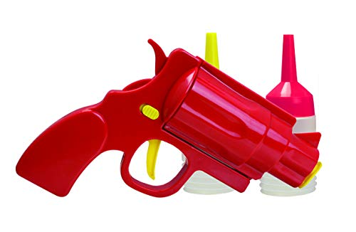 Novelty Condiment Shooter Dispenser – Plastic Ketchup...