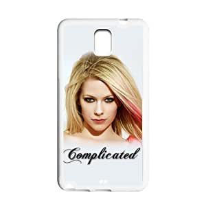 Custom Avril Lavigne Hard Back Cover Case for Samsung Galaxy Note 3 NE104
