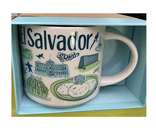 Starbucks El Salvador Coffee Mug Been There Series Across the Globe Collectors Cup Rare