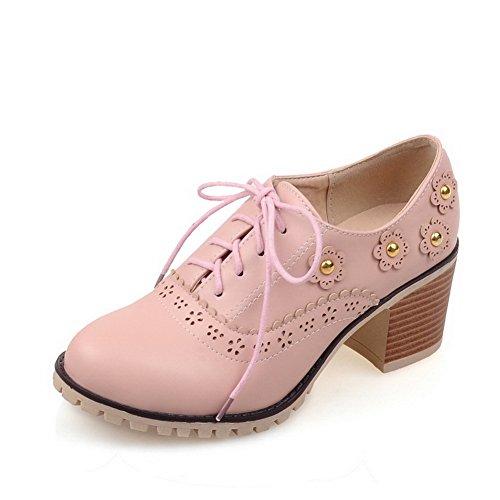Rose à Chaussures BalaMasa femme lacets IzqxUw