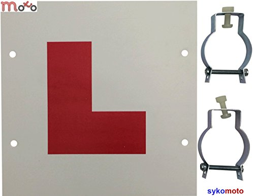 VIPER MOTOR LEARNING PLATE MOTORCYCLE MOTORBIKE RIGID L PLATE LEARNING SIGN...