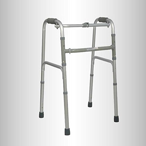 CW&T WW Elderly Walker Aluminum Alloy Foldable Telescopic Rehabilitation Equipment Four-Legged Walker