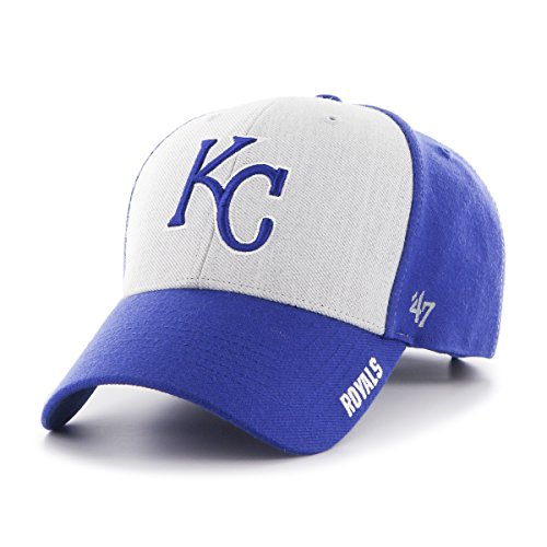 '47 MLB Kansas City Royals Beta MVP Adjustable Hat, One Size, Royal (City Royals Hats Kansas)