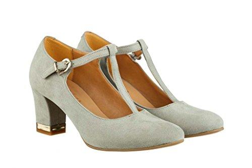 Hohe Pumps Decollete aus Leder Damen RIPA shoes - 27-04304
