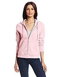 Hanes Women's Full Zip Eco Smart Fleece Hoodie