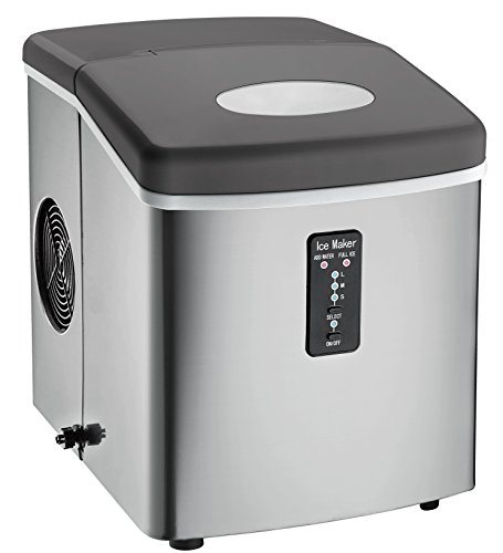 Igloo ICE103 Counter Top Ice Maker with Over-Sized Ice Bucket,...