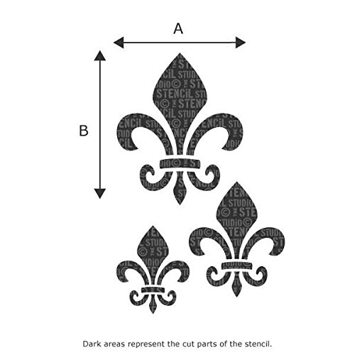 CACAO PAYRAUD French Label Stencil Furniture Wall Floor Stencil for Painting