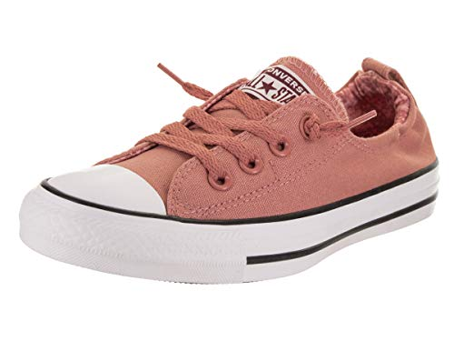 Converse Women's Chuck Taylor All Star Shoreline Slip Rust Pink/White/Black Slip-On Shoe 7 Women US by Converse