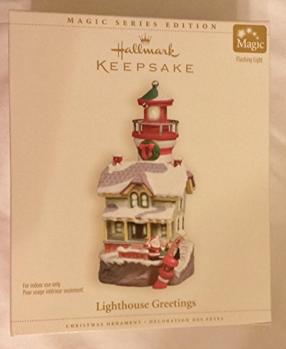 Keepsake Ornament Lighthouse Greetings by ()