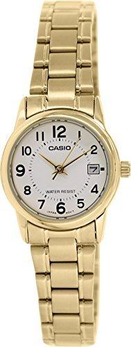 Casio Women's LTPV002G-7B Gold Stainless-Steel Quartz - Watch Womens Ltp Casio