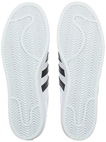adidas Unisex-Erwachsene Superstar Low-Top, Weiß (Ftwr White/Core Black/Ftwr White), 38 EU 4