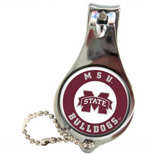 NCAA Mississippi State Bulldogs Keychain Nailclipper