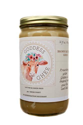 Brown Butter Ghee // Goddess Ghee // 32 oz