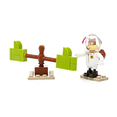 Mega Bloks SpongeBob Squarepants Sandy Cheeks Wacky Pack