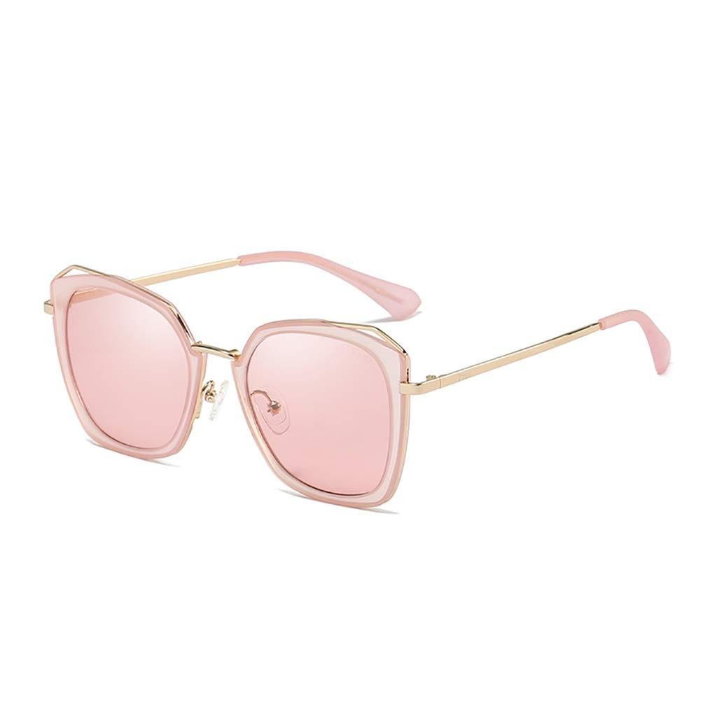 女性のためのファッション偏光サングラス、UV400ミラーレンズ - レッド   B07SCJMZX1
