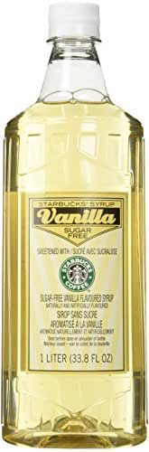 Honeys & Syrups: Starbucks Sugar Free Flavored Syrup