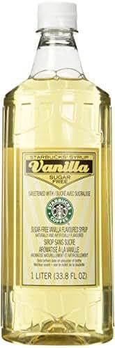 Starbucks Sugar Free Flavored Syrup