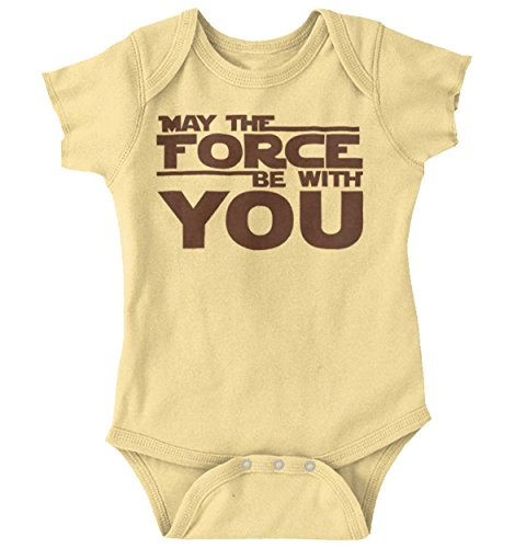 The Force Funny Cute Toddler Star Wars Darth Vader Baby Onesie (Darth Vader Body Suit)