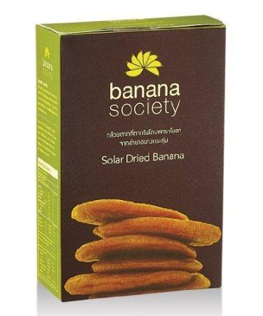 Banana Society,Solar Dried Banana 450g.