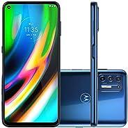 "Smartphone Motorola XT2087 Moto G9 Plus Azul Índigo128GB Tela 6.8"" Câmera 64 MP 8 MP 2 MP"